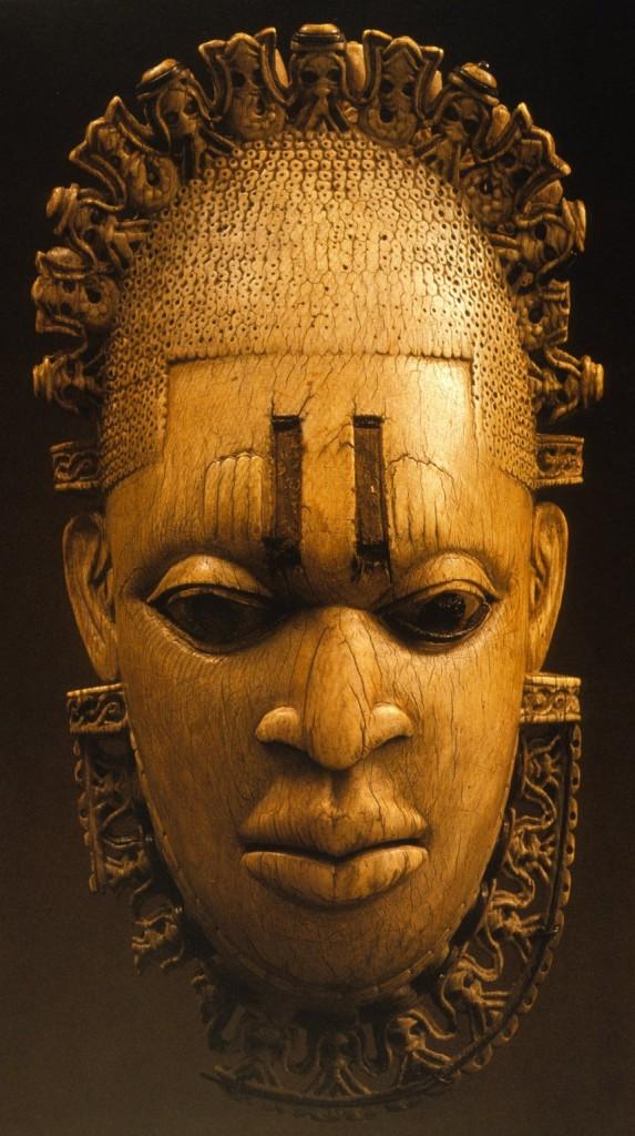 Benin, Pendant Mask of Idia, ca. 1550