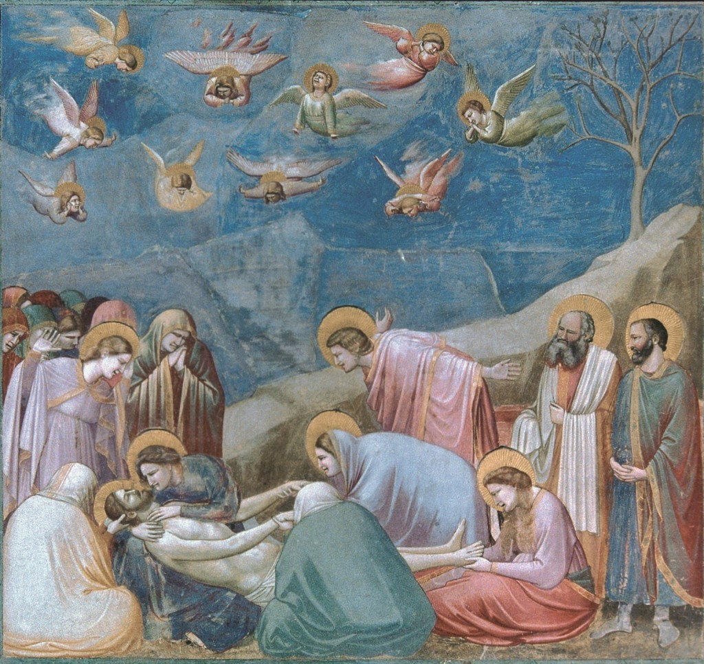 Giotto, Lamentation, Arena Chapel, ca. 1305