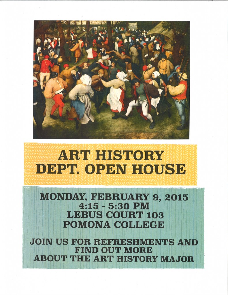 ART HISTORY OPEN HOUSE 2015