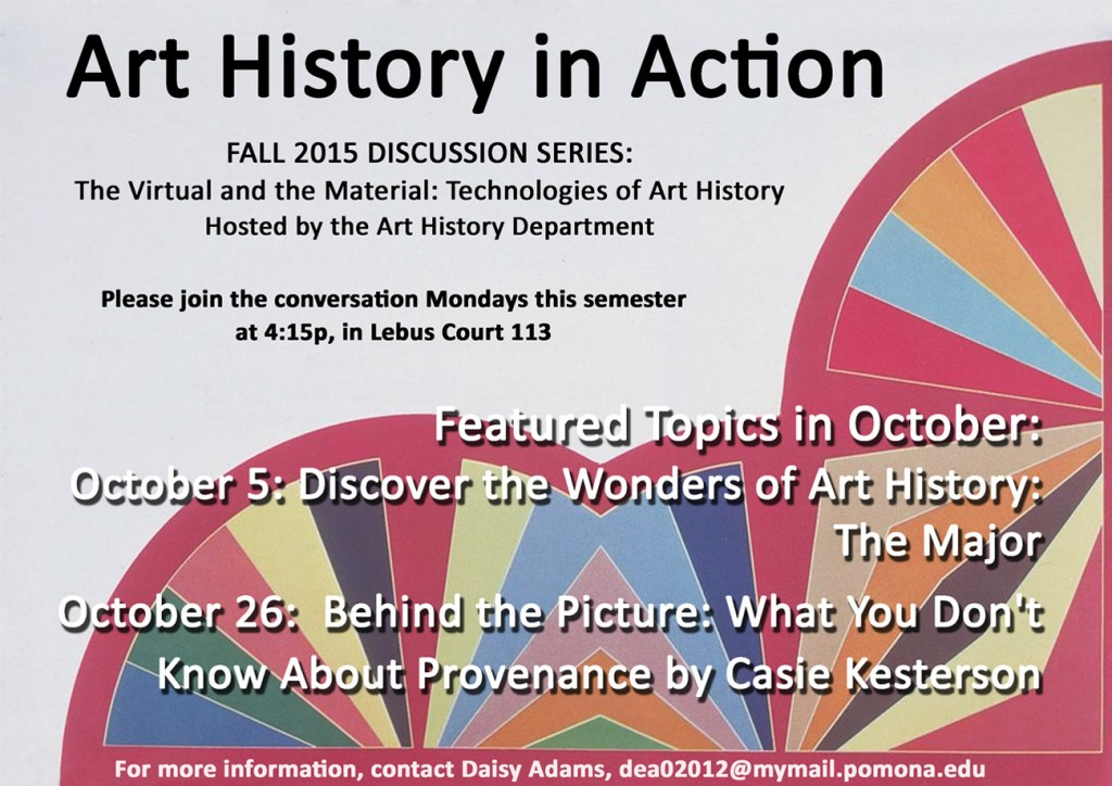 Oct Art History in Action SCC