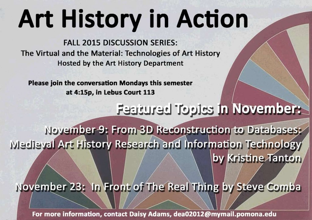 Nov Art History in Action