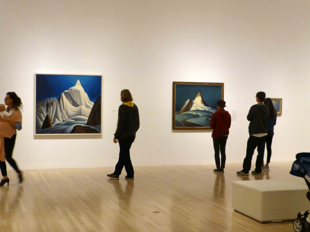 Exhibition of landscapes of Canadian artist Lawren Harris at the Hammer Museum